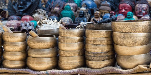 choix de son propre bol tibétain