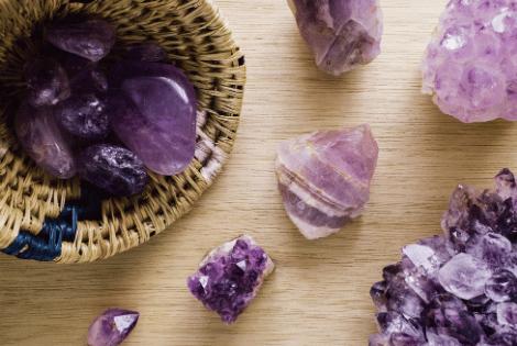 Usage des pierres d'améthyste