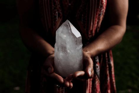 Cristal de roche en lithothérapie