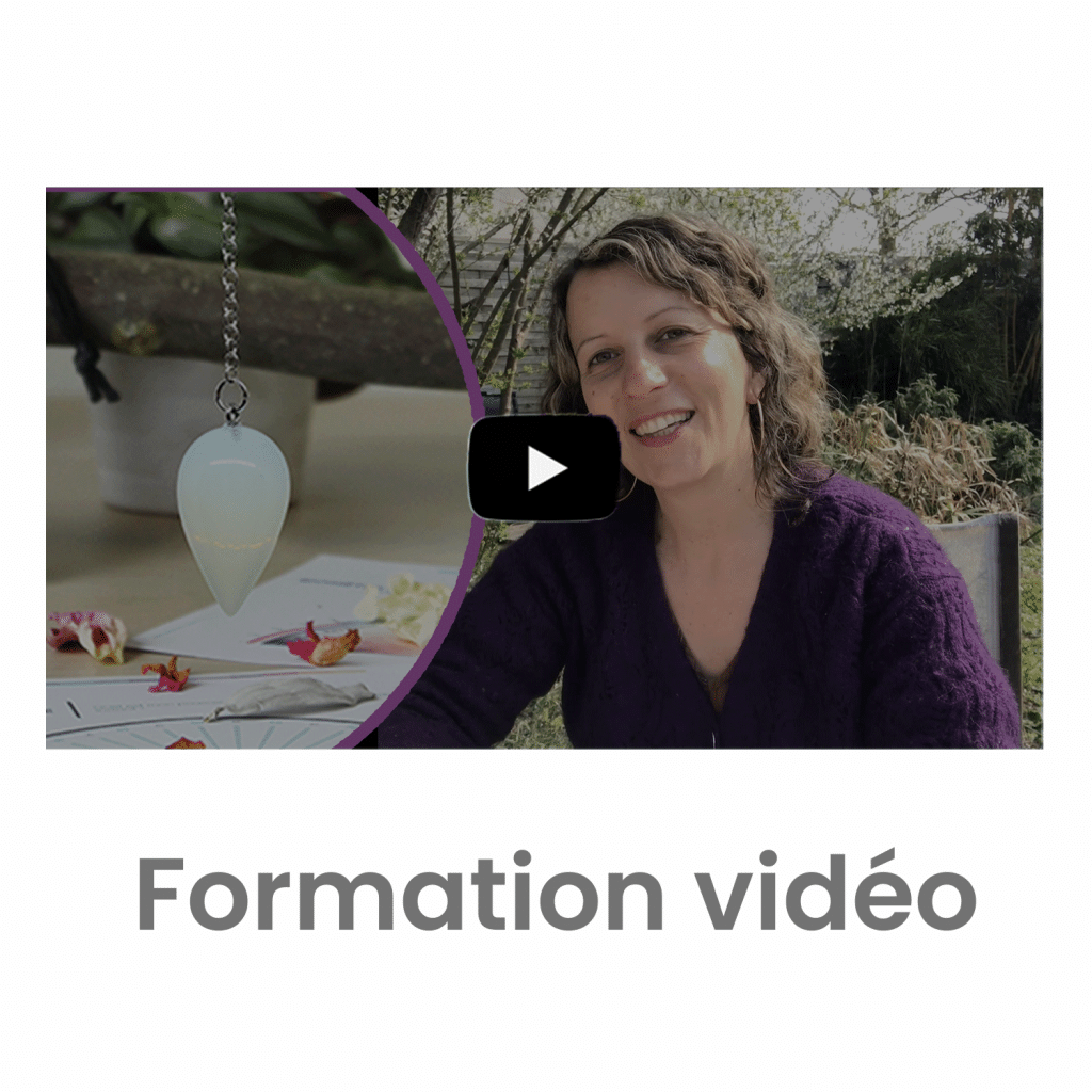 formation vidéo pendule divinatoire de radiesthésie