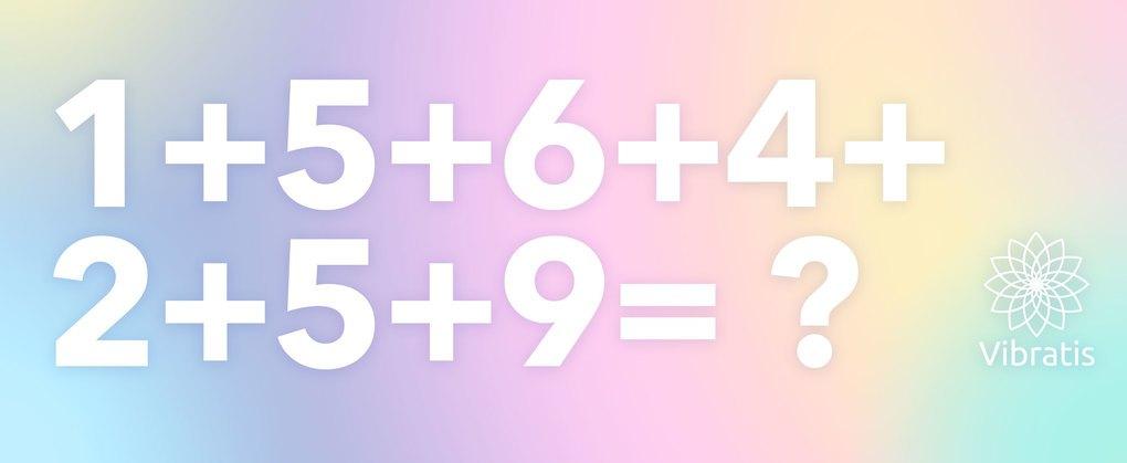 Calcul numerologie