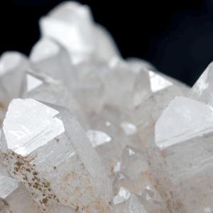 Pendules en cristal de roche