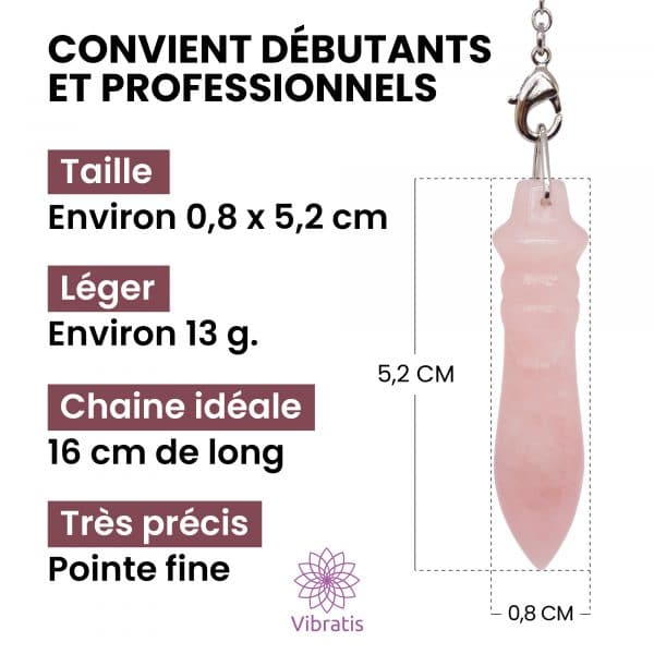 pendule egyptien thot quartz rose