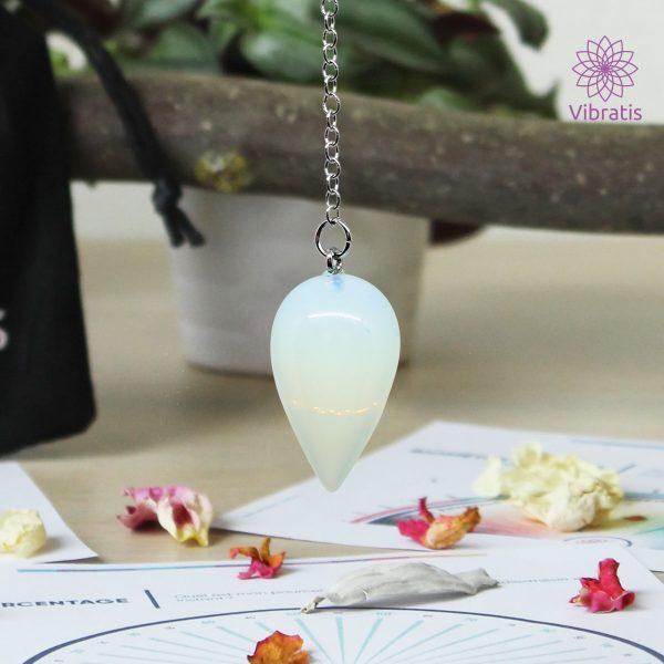 pendule divinatoire opale