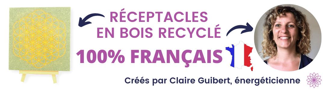 Réceptacle 100% français